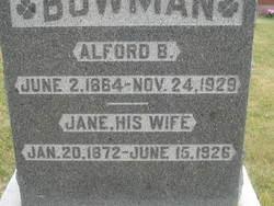 Jane <i>Saxon</i> Bowman