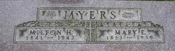 Lieut Milton H. Myers