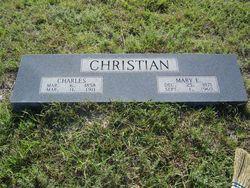 Mary Elizabeth Betty <i>Pennington</i> Christian