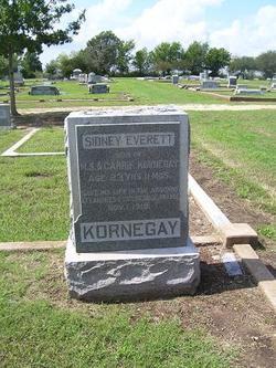 Pvt Sidney Everett Kornegay
