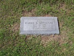 Caroline <i>Basinger</i> Kornegay