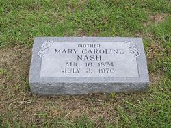 Mary Caroline Nash