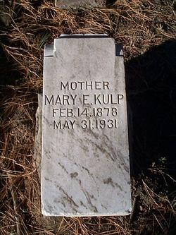Mary Emily <i>McPhail</i> Kulp