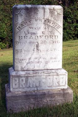 Mary Frances <i>Hall</i> Bradford