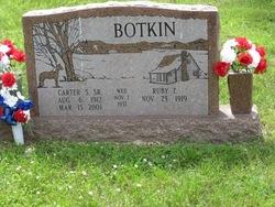 Carter S Botkin, Sr