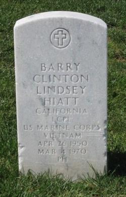Corp Barry Clinton Hiatt