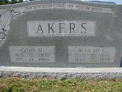 Buelah <i>Cox</i> Akers