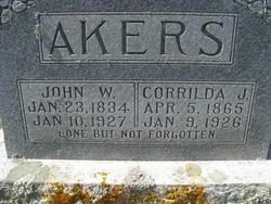 Corrilda <i>Altizer</i> Akers