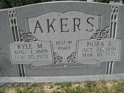 Nora A. <i>Phillips</i> Akers