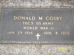 Donald Marian Cosby