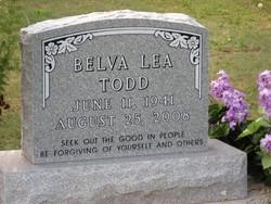 Belva Lea Bel <i>Swan</i> Todd