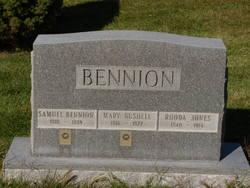 Rhoda <i>Jones</i> Bennion
