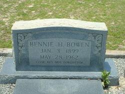 Bennie H. Bowen
