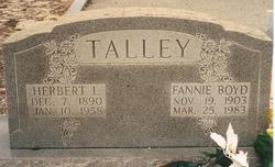 Fannie <i>Boyd</i> Talley