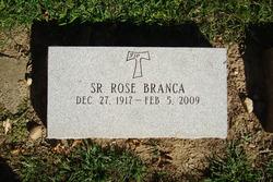 Sr Rose Aunt Millie Branca