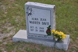 Alma Jean <i>Warren</i> Davis