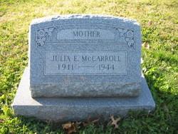 Julia Elizabeth <i>Winegar</i> McCarroll