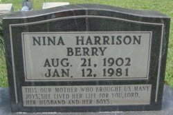 Nina Belle <i>Harrison</i> Berry