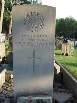 Pvt Arthur Lyon Anderton