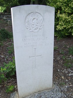 Corp Arthur Ashley