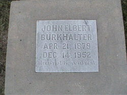 John Elbert Burkhalter