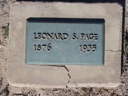 Leonard Shipman Page