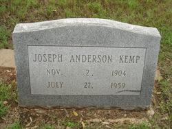 Joseph Anderson Kemp, Sr
