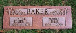 Lillie F <i>Fisk</i> Baker