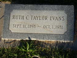 Ruth Campbell <i>Taylor</i> Evans