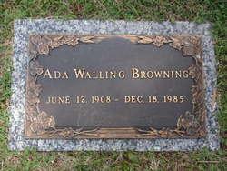 Ada <i>Walling</i> Browning