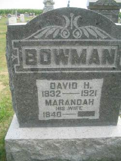 David Henry Bowman