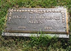 Hazel G <i>Lawrence</i> Allen