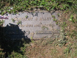 Dorothy J <i>Sisk</i> Alley