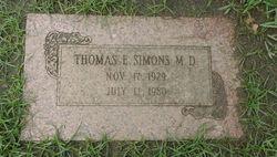 Thomas E. Simons