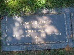 PFC Elmer B Alley