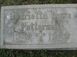 Henrietta Churchill <i>Lowe</i> Patterson