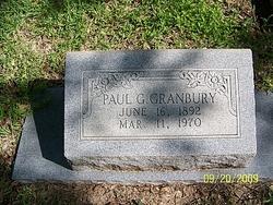 Paul G Granbury