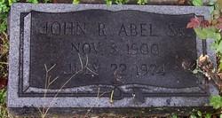 John Robertson Abel, Sr