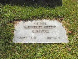 Marguerite <i>Giddens</i> Chalmers
