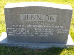 Esther Ellen Bennion