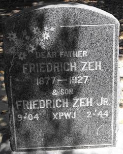 Friedrich Zeh, Jr