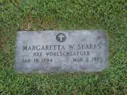 Margaretta Sophie <i>Wohlschlaeger</i> Sparks