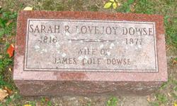 Sarah R. <i>Lovejoy</i> Dowse