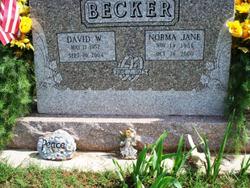 Norma Jane <i>Beasler</i> Becker