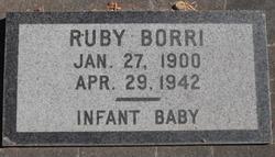 Ruby <i>Yancey</i> Borri