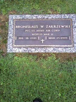 Bronislaus W Zakrzewski