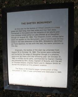 Lake Shetek State Monument