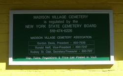 Madison Village Cemetery