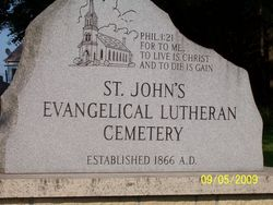 Saint John's Evangelical Lutheran Cemetery