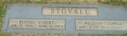 Bertha Stovall